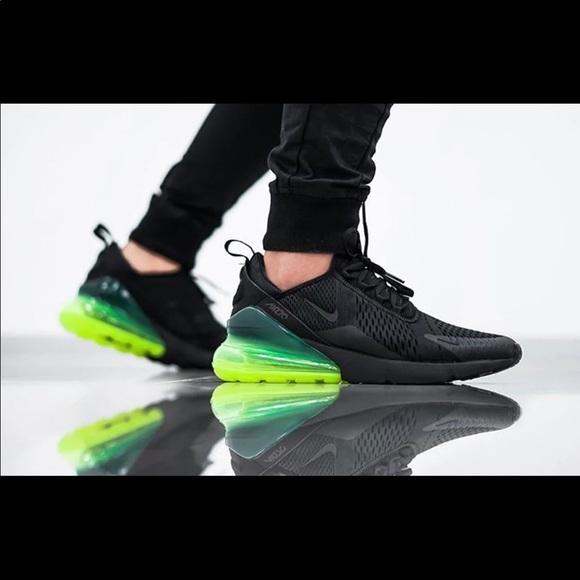 Nike Shoes   Nike 27s Black Neon Green